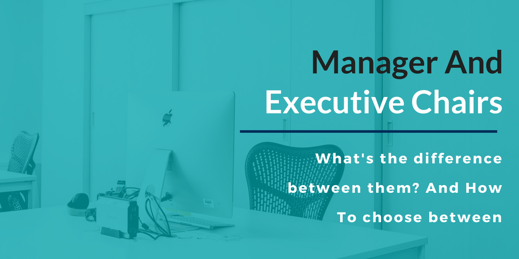 Whats Difference Between Executive >> What S The Difference Between A Manager And Executive Chair Elm